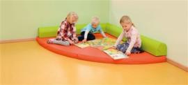 Speel- en rusthoek 160 x 160 cm
