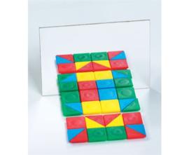 Geometrie spiegel, 10 stuks