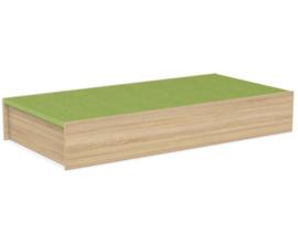 # Podiumdeel rechthoek 75 x 150 cm, hoogte 24 cm