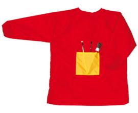 Schildersschort rood, 4 - 6 jaar