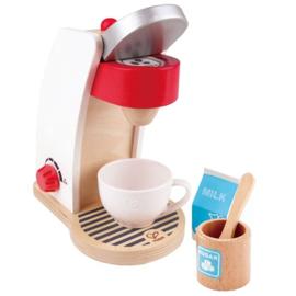 Koffiezetapparaat hout, 6-delig