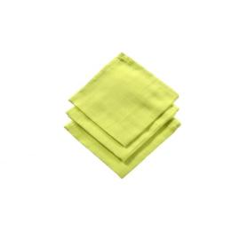 Spuugdoekje hydrofiel soft lime, 3 stuks