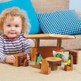 #Keuken set van hout