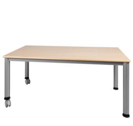 Rechthoekige tafel vaste hoogte 120x 60 cm