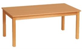 Beuken tafel rechthoek, 80 x 60 cm