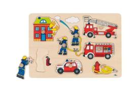 Insteekpuzzel de Brandweer