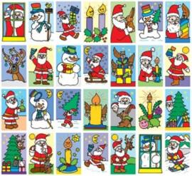 Themastickers Kerst
