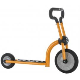 Step orange scooter