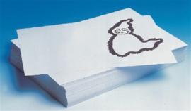 Verfpapier, 80 grams