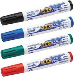 BiC Whiteboardstiften set van 4 kleuren ass.