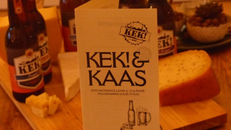 KEK! & KAAS - Een avondvullend en culinair programma voor thuis