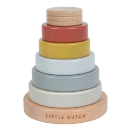 Houten speelgoed Little Dutch - Stapeltoren Pure Nature