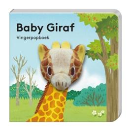 Vingerpopboekje wilde dieren - Giraf