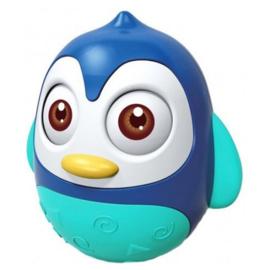 Tuimelaar Happy World pinguin blauw
