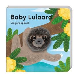 Vingerpopboekje wilde dieren - Luiaard