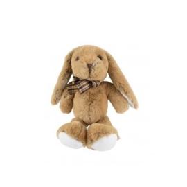 Knuffel konijn met strik
