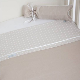 Bed omrander Little Dutch beige met witte ster