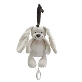 Muziekknuffel Tiamo Basic Bunny wit