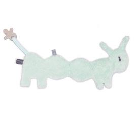 Knuffeldoekje Snoozebaby rups mint groen
