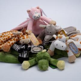 Knuffeldoekje Teddykompaniet Diinglisar Wild en Limited