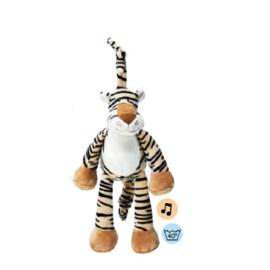 Muziekknuffel Teddykompaniet Diinglisar Wild tijger