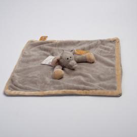 Knuffeldoekje Teddykompaniet Diinglisar Wild olifant