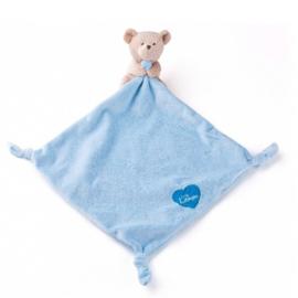 Knuffeldoekje Lumpin blauwe beer