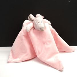 Knuffeldoekje Teddykompaniet Floppys roze