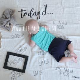 Baby mijlpaal fotodeken - Activiteiten