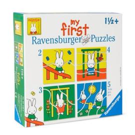 Baby speelgoed puzzel 4 in 1 - Nijntje