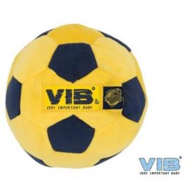 Knuffel voetbal VIB geel