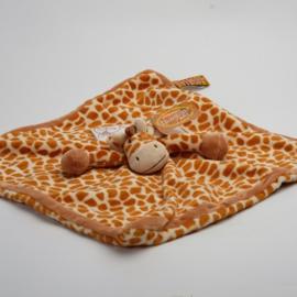 Knuffeldoekje Teddykompaniet Diinglisar Wild giraffe