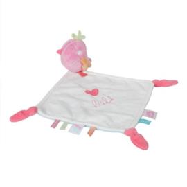 Knuffeldoekje Lief! roze