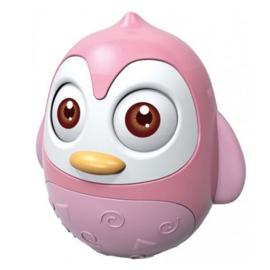 Tuimelaar Happy World pinguin roze