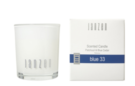 Scented Candle ,blue 33 JANZEN