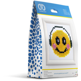 Diamond Dotz smiley 7,6 x 7,6 cm