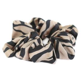 Scrunchie zebra, LOVE IBIZA