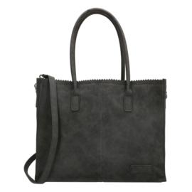 Shopper Lisa zwart, ZEBRA