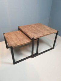 Industriële tafelset, 2-delig