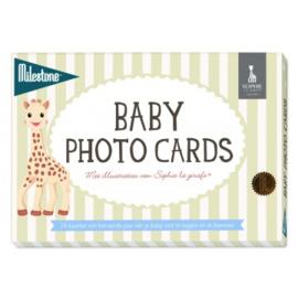 Baby fotokaarten, Sophie de giraf