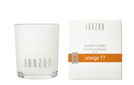 Scented Candle orange 77, JANZEN