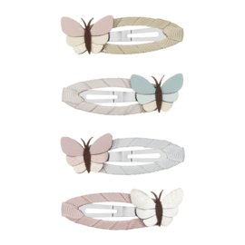 Vlinder haarclips 4 stuks, Mimi & Lula