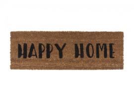 Door mat Happy Home, Present Time