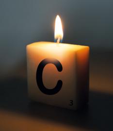 Letterkaarsje C