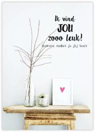 Ik vind JOU zooo leuk!