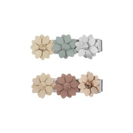 Bloemen haarclips 2 stuks, Mimi & Lula