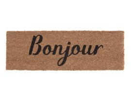 Door mat Bonjour, Present Time