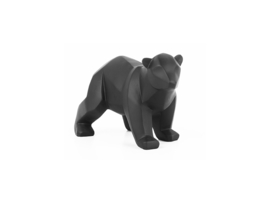 Statue origami bear small, Present Time