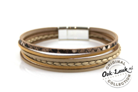 Chique armband Carry, gold