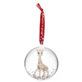 Sophie de giraf kerstbal